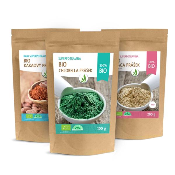 Superpotraviny v prášku a proteiny