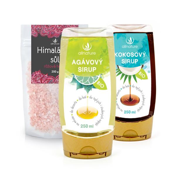 Přírodní sladidla a soli